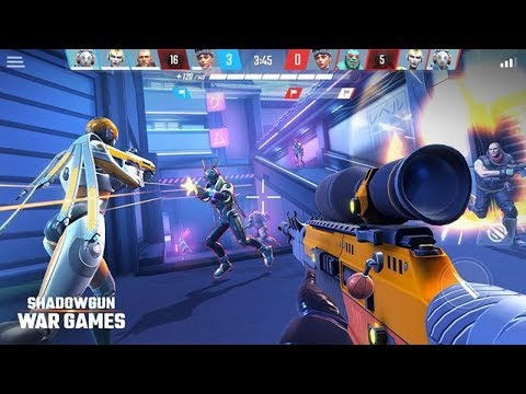 *NEW* SHADOWGUN WAR GAMES - ONLINE PvP FPS SHOOTER GLOBAL LAUNCH GAMEPLAY