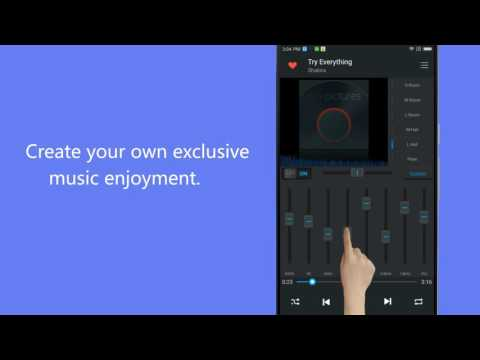 video review of Equalizer Music Player and Video Player