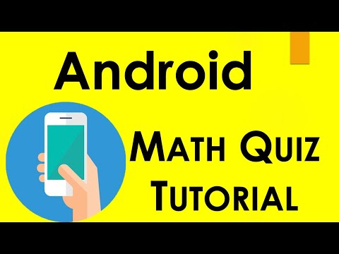 Math Quiz Mobile App in Android Studio