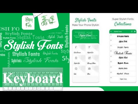 Use Stylish Font Keyboard for Android Device in 2021 || Best Stylish Font Keyboard in Android Device