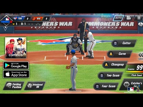 MLB 9 Innings 20    Android Gameplay (HD)