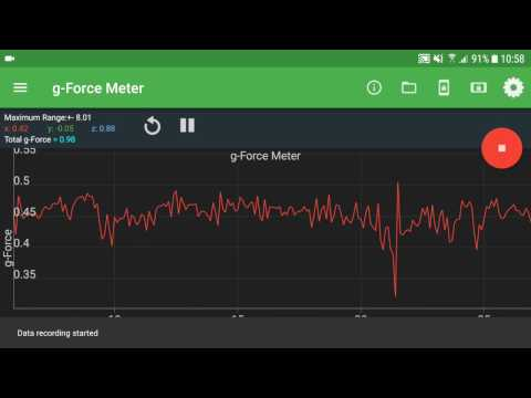 video review of Physics Toolbox Sensor Suite