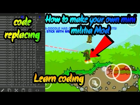 How to make your own mini militia mod || Learn coding || 2020 trick |By Gamer shreyas ||