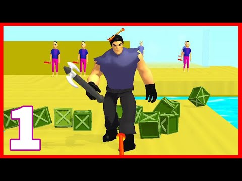 Archer Hero 3D gameplay Part 1 | Archer Hero 3D game (Android,iOS)