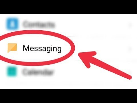 How To Manage Messaging System Apps Settings in Android