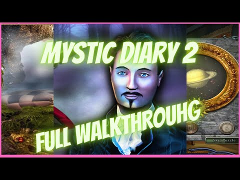 Mystic Diary 2 Hidden Object - Gameplay Full Walkthrough / Playthrough (F2P Section) (HD)