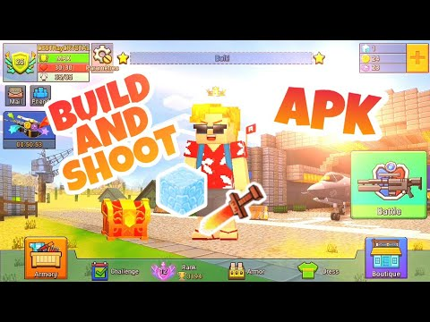 Build And Shoot APP on Android Test! Full Gameplay