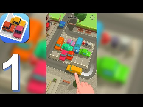 Parking Jam 3D - Gameplay Walkthrough Part 1 Levels 1-35 (Android, iOS)