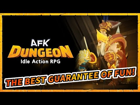 video review of AFK Dungeon