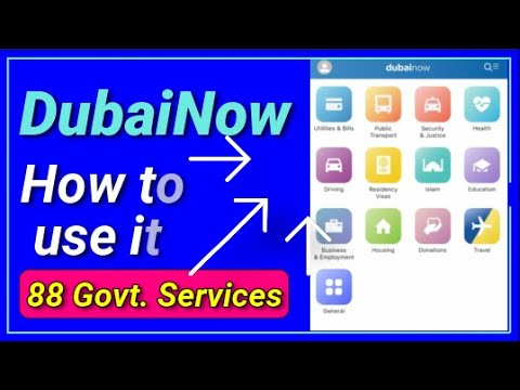 DubaiNow App for Visitors, Citizens and Residents in 2020