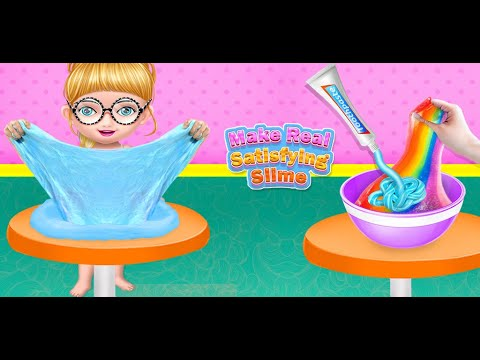 video review of Fluffy Slime Maker game
