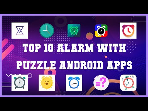 Top 10 Alarm with Puzzle Android App | Review