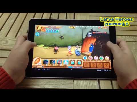 video review of Larva Heroes: Lavengers