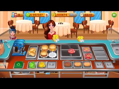 video review of Cooking Talent - Restaurant manager - Chef game