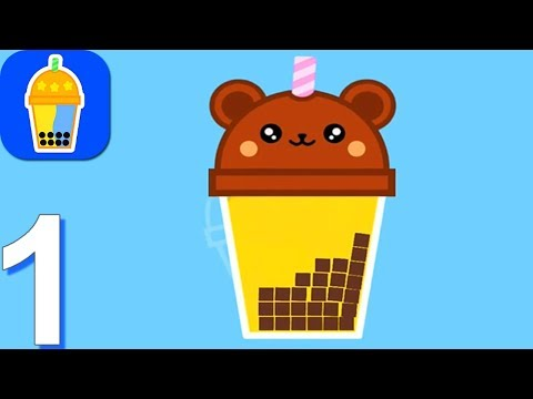 Bubble Tea! - Gameplay Walkthrough Part 1 Levels 1-15 (Android, iOS Gameplay)