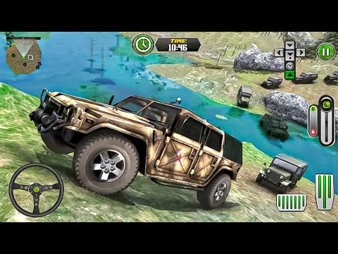 Army Truck Driving 2021 - Military Coach Transporter New Truck Unlocked Android Gameplay