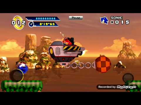 Sonic the hedgehog 4 episode I(version android) Juego completo