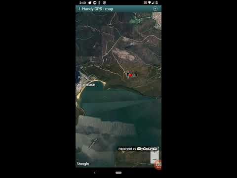 video review of Handy GPS (free)
