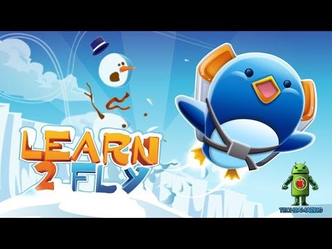 Learn 2 Fly iOS / Android Gameplay HD