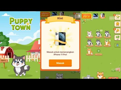 Puppy Town - Merge & Win - android gameplay