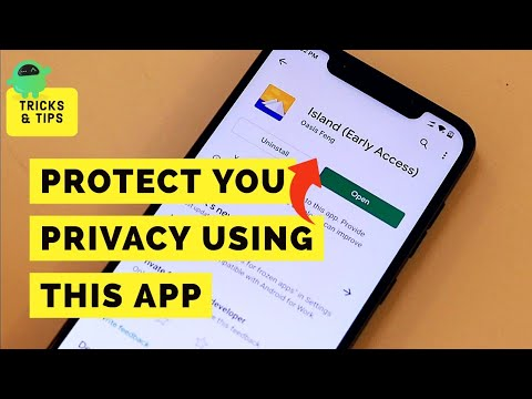 Stop Android App's from collecting your personal data