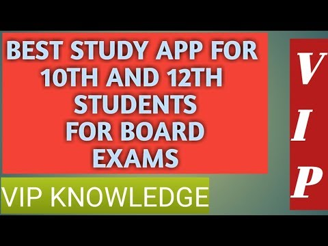 Best study app for 10th and 12th students for board exam