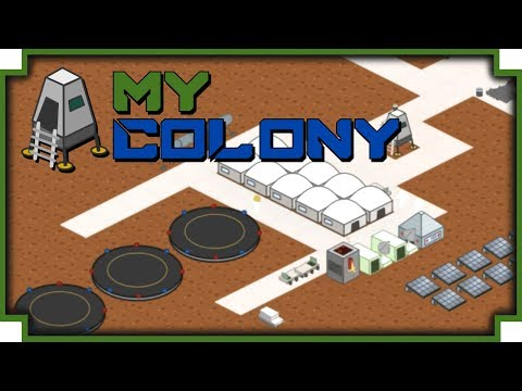 My Colony - (Space Colonizing City Builder)