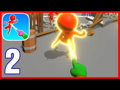 Magic Finger 3D - Gameplay All Levels 35-55 (Android,iOS)
