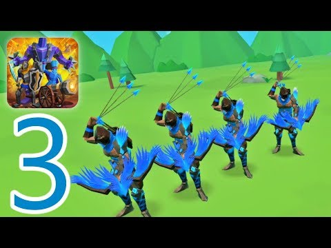 Epic Battle Simulator 2 - Gameplay Part 3 (Android) Archer Characters Unlocked 2019 FHD