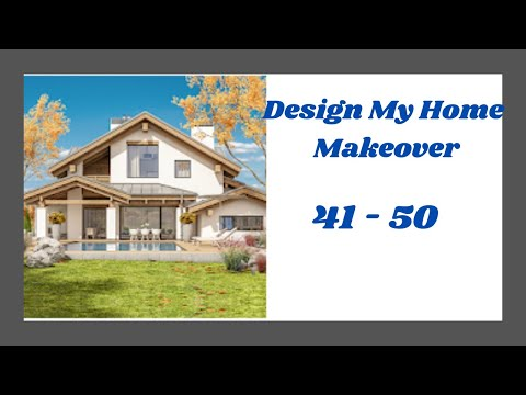 Design My Home Makeover Level 41 - 50 Answers