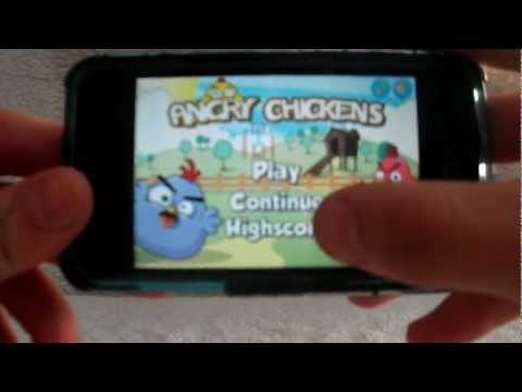 My First App Review: Angry Chickens