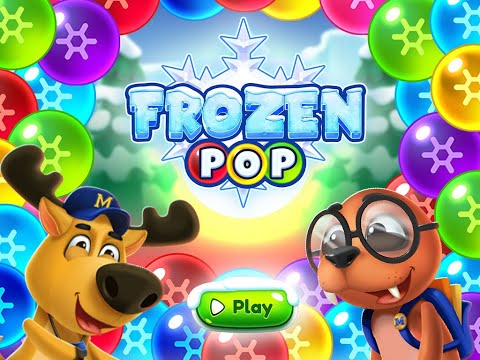 video review of Frozen Pop Bubble Shooter Game