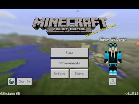 How To Play With Mods Minecraft Pocket Edition Tutorial