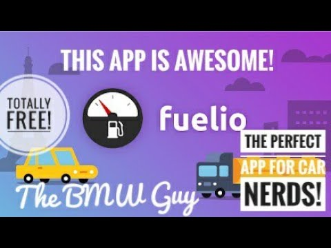 Every Driver needs this *FREE* App! Fuelio App Review!