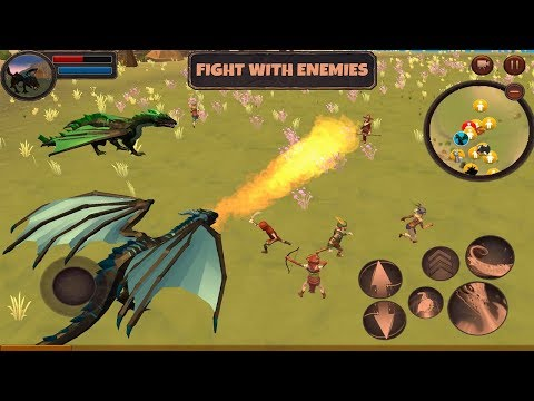 Dragon Simulator 3D: Adventure Game - Gameplay Trailer (Android Gameplay)