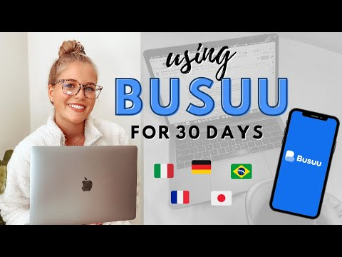I Tried Busuu for 30 Days 🇮🇹     Language Learning App Review