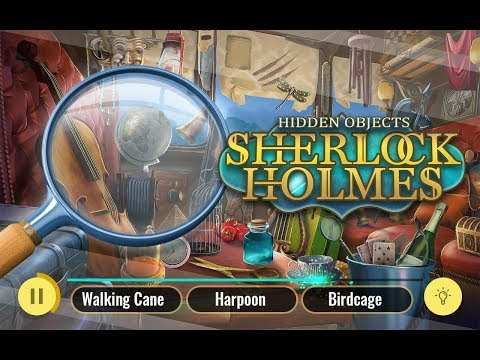 video review of Sherlock Holmes Hidden Objects Detective Game