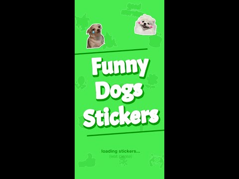 NEW Funny Dogs Memes Stickers WAStickerApps