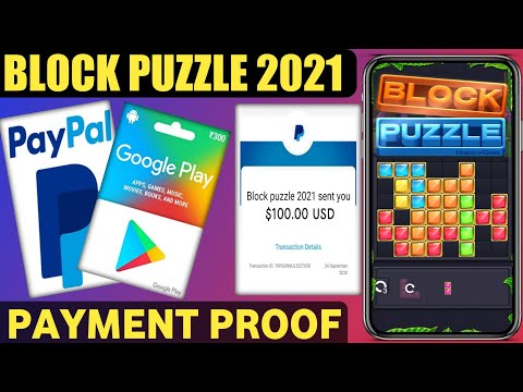 BLOCK PUZZLE 2021  Free Redeem Code And Paypal cash Earning App || BLOCK PUZZLE APP