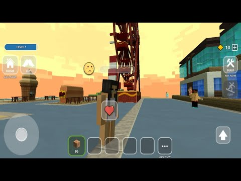 Surfing Craft : Building & Exploration Surfer Games || Android iOS Gameplay