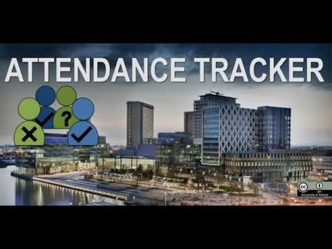 video review of Attendance Tracker