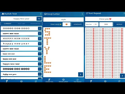 How to Use Stylish Text and Font Generator : Cool Chat Styles Android 2021