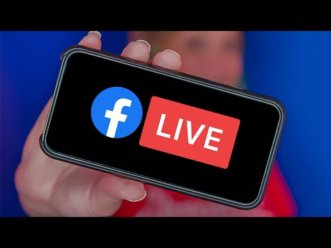 How To Go LIVE on the Facebook App (iPhone or Android)