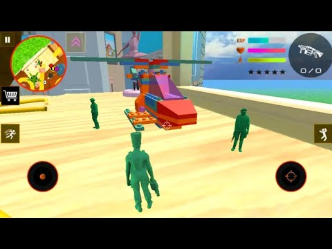 Army Men Toy Squad Survival War Shooting Gameplay (Android, iOS)