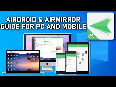AirMirror and AirDroid for Android and Windows Guide 2020