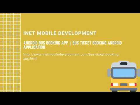 Realtime Bus Ticket Booking Android Application (2020)