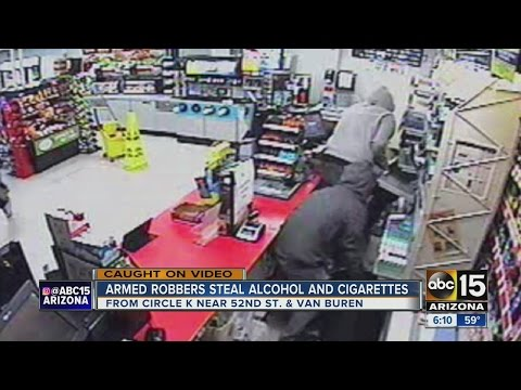 Circle K threatened employee with gun, made off with cash
