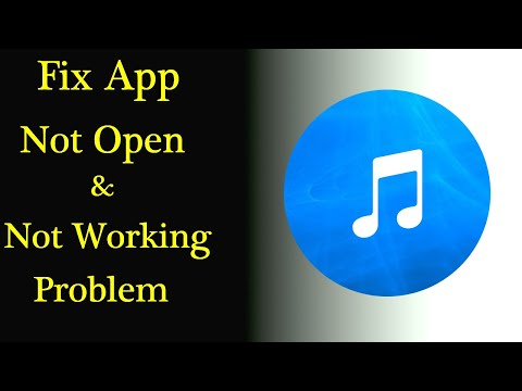 Audio & Music Player App Not Working Issue |