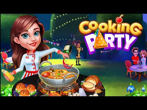 Cooking Party [ Android ] A long  Gameplay | Arcade Cooking game  LVL1-7 and some upgrades