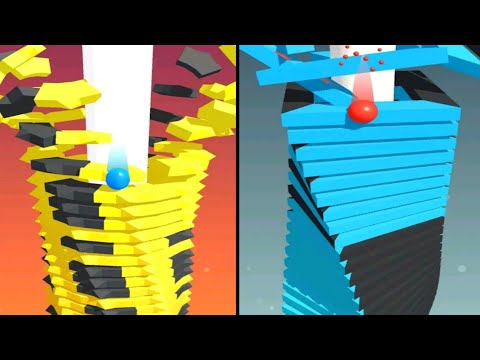Stack ball blast through platforms android game / specially made for android user's